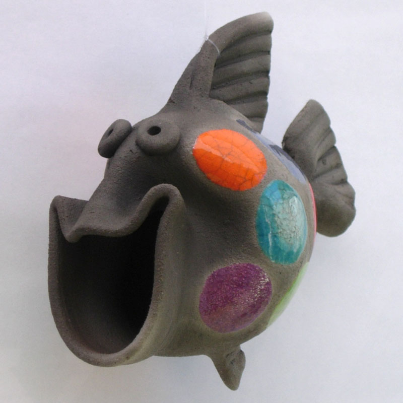 Ceramic Happy Fish